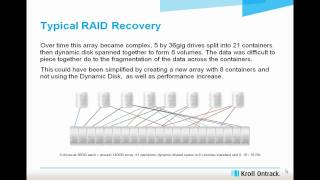 Data recovery voor RAID Recovery