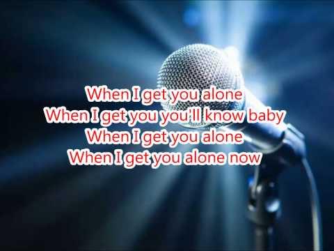 Robin Thicke - When I get you alone Karaoke