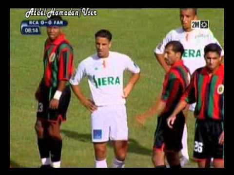 RAJA 0-2 FAR MATCH DU CHAMPIONNAT  2005