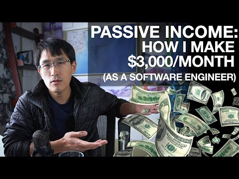 Passive Income: How I Make $3,000/month Online (as A Software Engineer)