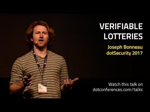 dotSecurity 2017 - Joseph Bonneau - Verifiable lotteries
