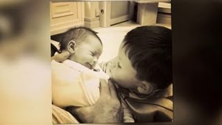 Proud Mum Coleen Rooney Shares Loving Snap of Her Two Boys Kai and Klay - Splash News