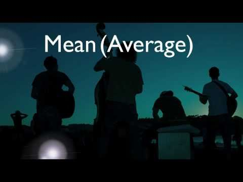 Measures of Central Tendency Rap - Mean, Median, Mode and Range