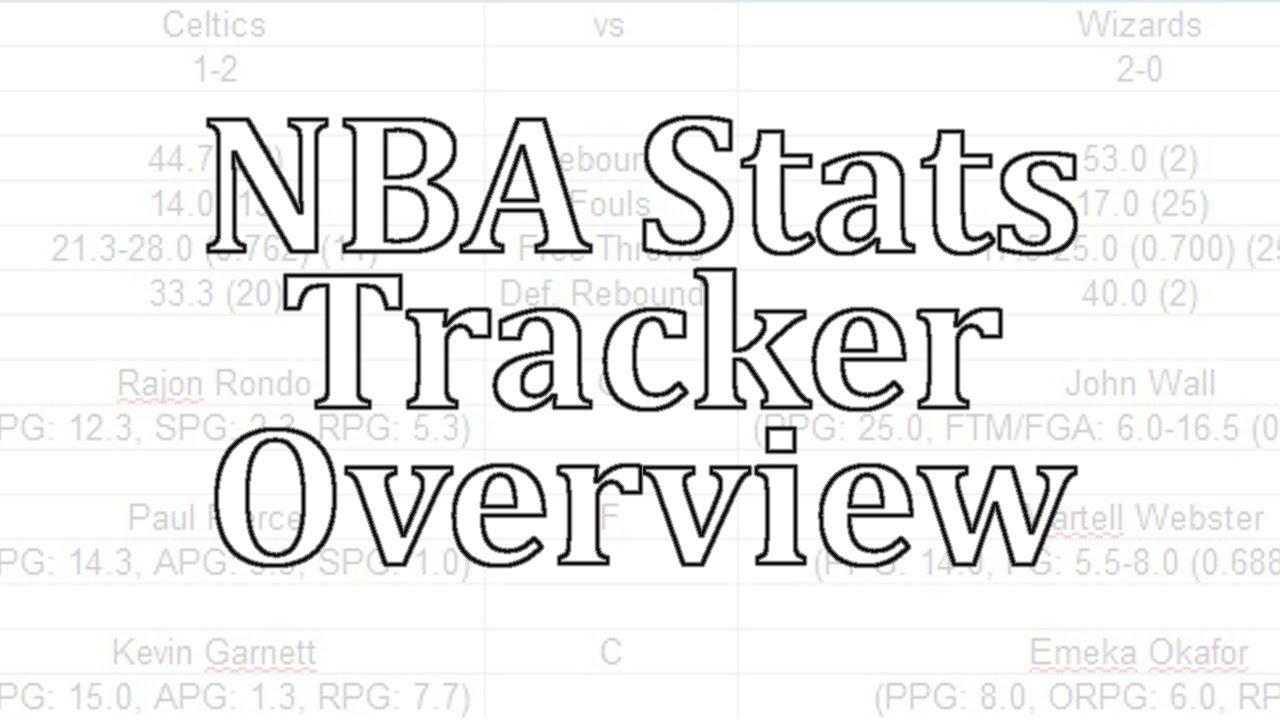 NBA 2K Tutorial - NBA Stats Tracker Overview