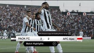Τα στιγμιότυπα του ΠΑΟΚ-AFC Ajax- PAOK TV