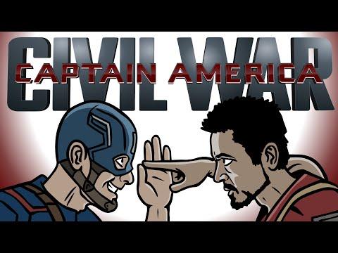 Captain America Civil War Trailer Spoof - TOON SANDWICH