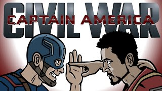 Captain America Civil War Trailer Spoof - TOON SANDWICH