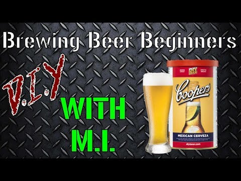 DIY with MI - Beer Brewing for Beginners