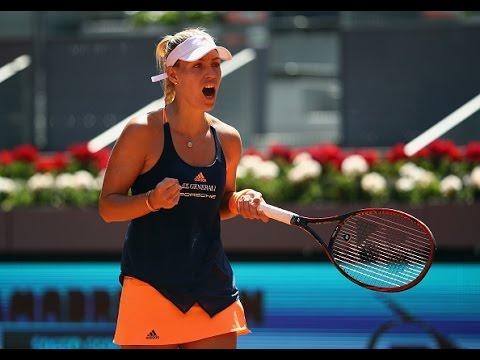 2017 Mutua Madrid Open Second Round | Angelique Kerber vs Katerina Siniakova | WTA Highlights