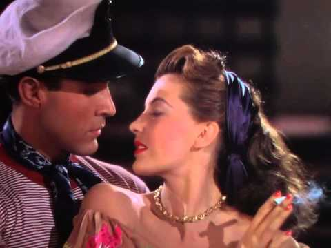 Cyd Charisse wRicardo Montalbán 1948 On an Island with You Dark Duet