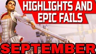 Apex Legends Highlights And Epic Fails (September)