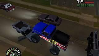 Un Bug muy extraño con el MonsterTruck / GTA San Andreas