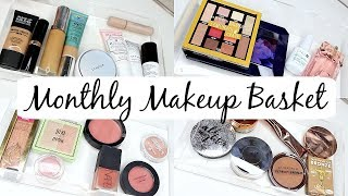 Monthly Makeup Basket - What's New in Makeup!