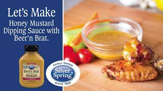 Let's Make Honey Mustard Dipping Sauce with Beer'n Brat