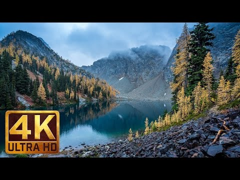 "4K Scenic Nature Documentary ""Beautiful Washington""/Autumn Nature Scenery - Episode 5 in 4K"