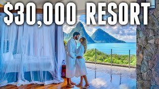 We Stayed at THE MOST EXPENSIVE Hotel in The Carib...