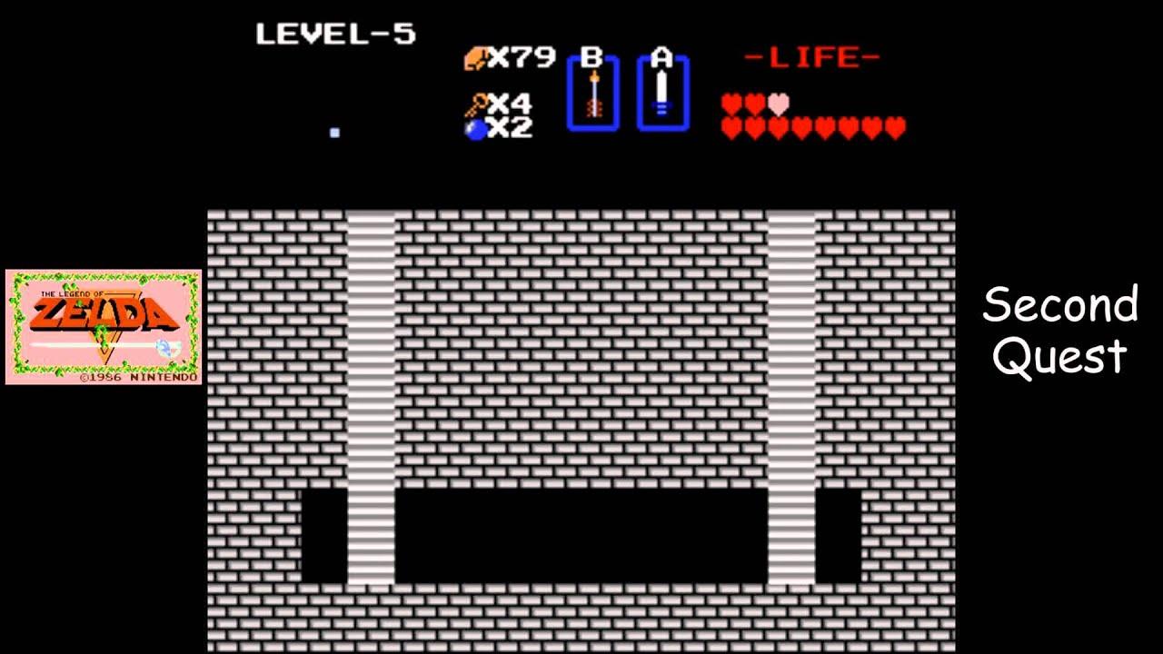 Legend of Zelda [NES] Playthrough #17, Quest 2, Level 5: The Z