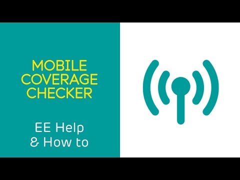 EE Help & How To: Mobile Coverage Checker