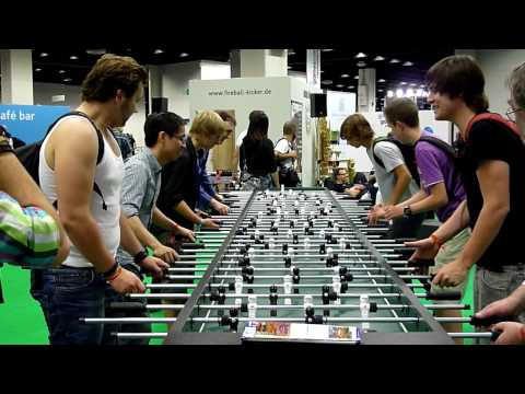 Table Football Live Kicker Sports Championship @ GamesCom 2015?