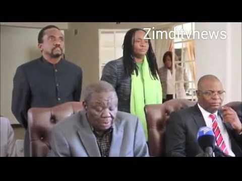 MDCT Tsvangirai & MDC Prof Ncube sign election pact