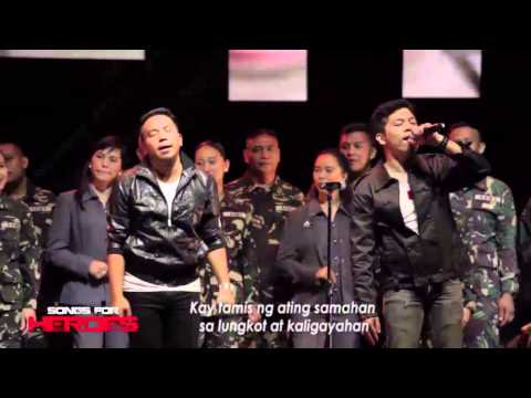 Salamat  The Dawn AFP Chorale, PNP Chorale & OPM rock icons performance on Songs For Heroes 1