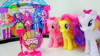 Видео для девочек. Пони становятся девочками Рэйнбоу Рокс