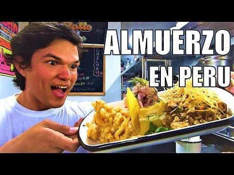 Como es un Almuerzo en Peru - Venezolanos en Lima