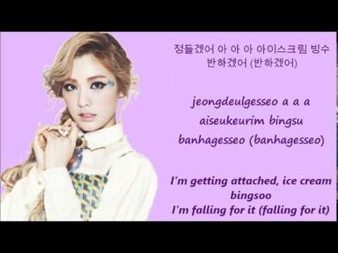 Orange Caramel Abing Abing[Han+Rom+Eng Lyrics]