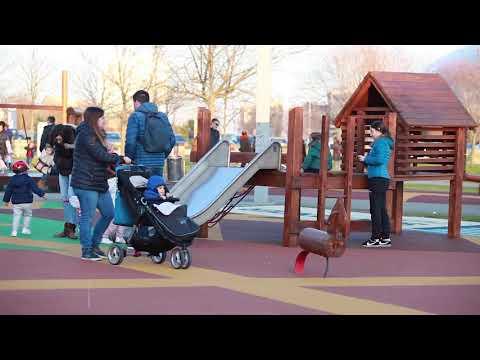 Renovación del área infantil de Las Llamas