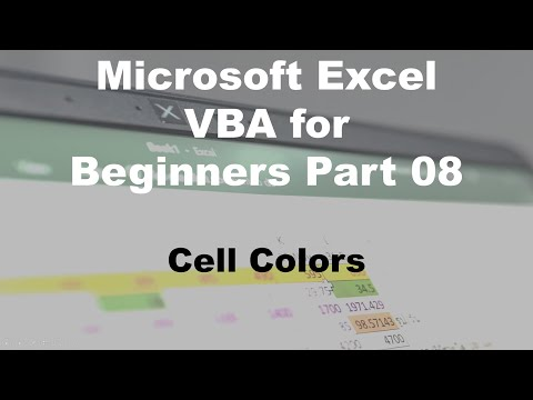 microsoft-excel-vba-for-beginners-part-08-cell-colors