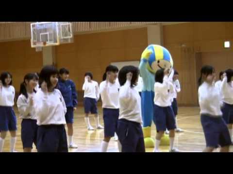 美山中学校1年生女子