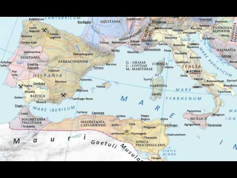 Roman History 04 - The Punic Wars 1 - 300 - 225 BC