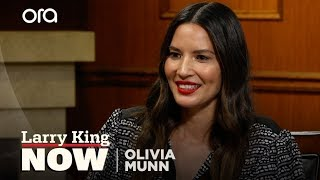"""Olivia Munn praises """"inspiring"""" woman for coming forward in 'The Predator' controversy"""