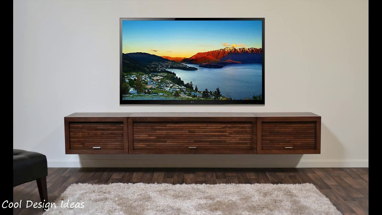 TV Wall Mount Stand Decoration Ideas - YouTube