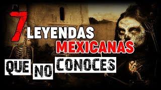 7 LEYENDAS MEXICANAS QUE QUIZÁ NO CONOCES | HISTORIAS DE TERROR | INFRAMUNDO RELATOS