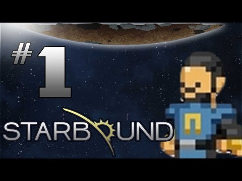 Starbound Gameplay - EP 1 - MATTER MANIPULATOR - Starbound 1.0 Let's Play (FULL Release)