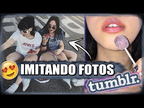 IMITANDO FOTOS TUMBLR | Blog das irmãs