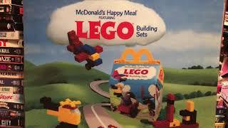 McDonald's LEGO 1986 Building Sets 1980s 80sThen80sNow