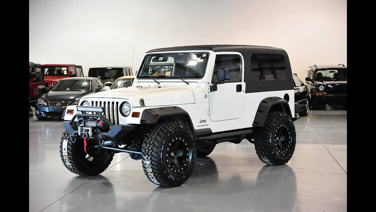 Lifted Jeep Wrangler >> Davis AutoSports 2005 WRANGLER LJ / LIFTED / EVERYTHING IS ...