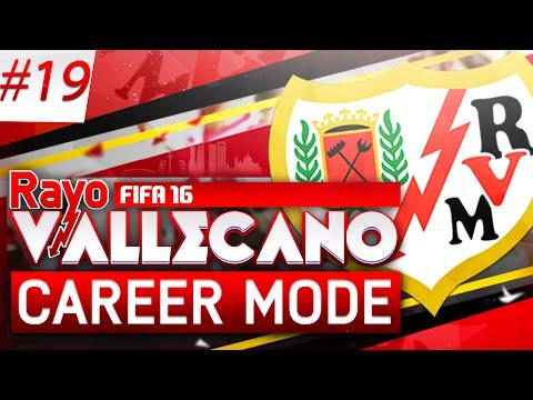 FIFA 16 | Rayo Vallecano Career Mode | #19 | Madrid Derby Double