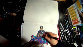 Graffiti Blackbook Captain America