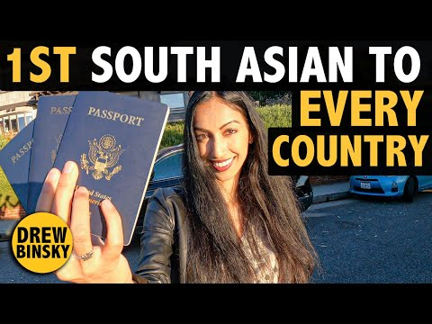 First South Asian Woman to EVERY COUNTRY