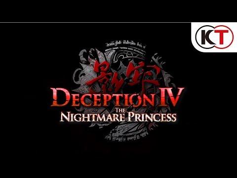 DECEPTION IV: THE NIGHTMARE PRINCESS - LAUNCH TRAILER