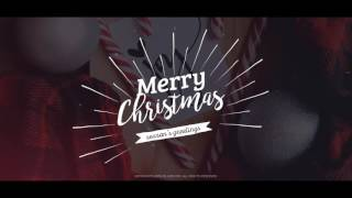 After Effects Template Christmas and New Year Titles