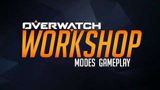 Overwatch Workshop Gameplay (Battle Royal, Aimbot, Zombie, Tbag...)