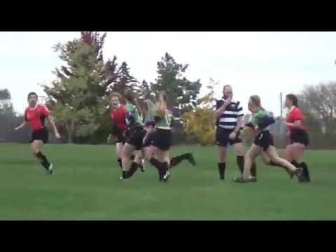 (WI-17') HS-Girls Rugby - Stevens Point vs. Fox Valley Co-Op (Full Match) 10/14/17