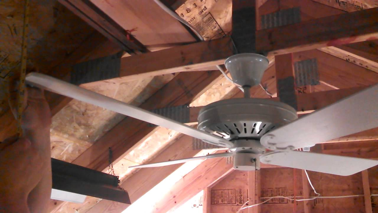 Balancing Ceiling Fans