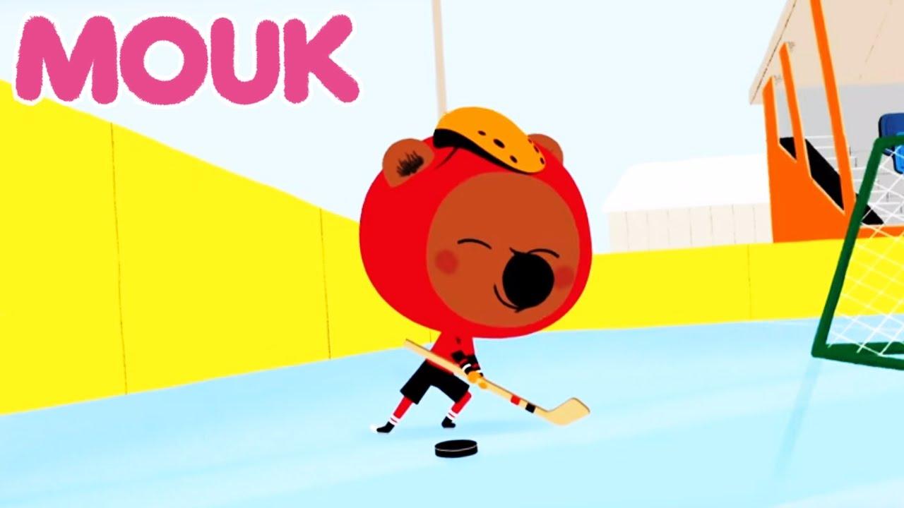 Mouk Salt Lake And Hockey Cartoon For Kids Youtube