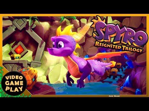 Spyro Reignited Trilogy - Vuelo Salvaje 100% All in One Walkthrough Gameplay
