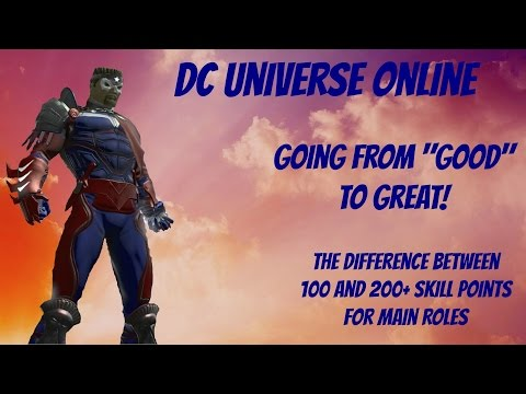 DCUO-Importance of Skill Points
